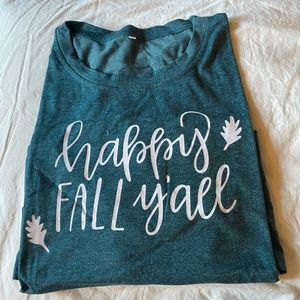 ⭐️Clearance⭐️ Happy Fall Y'all T-shirt